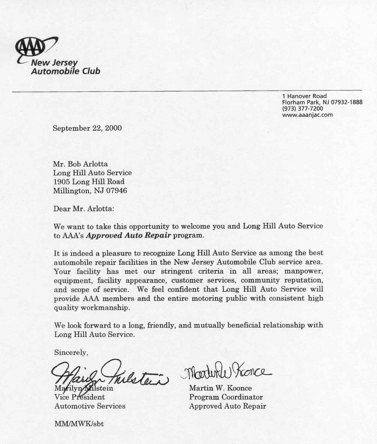 Sample Letter Of Recognition For Job Well Done from longhillauto.com